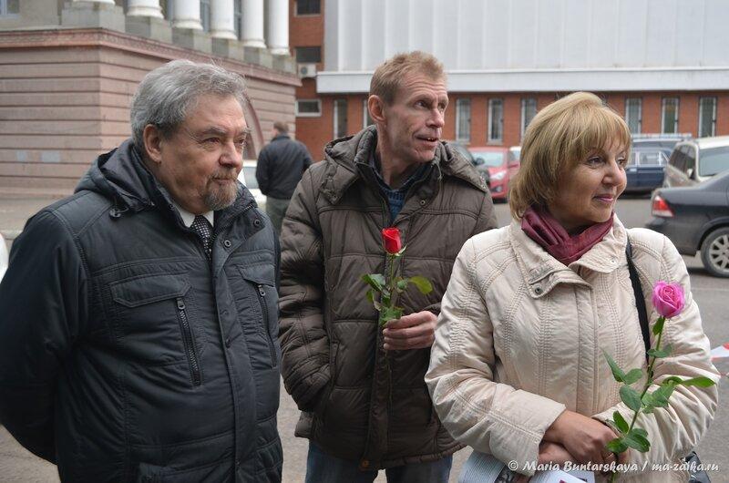Открытие мемориальной доски на здании Саратовской ремесленной управы, Саратов, 31 октября 2014 года