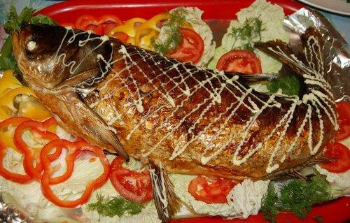 Рецептография - рецепты в фотографиях со всего света. фаршированная рыба...