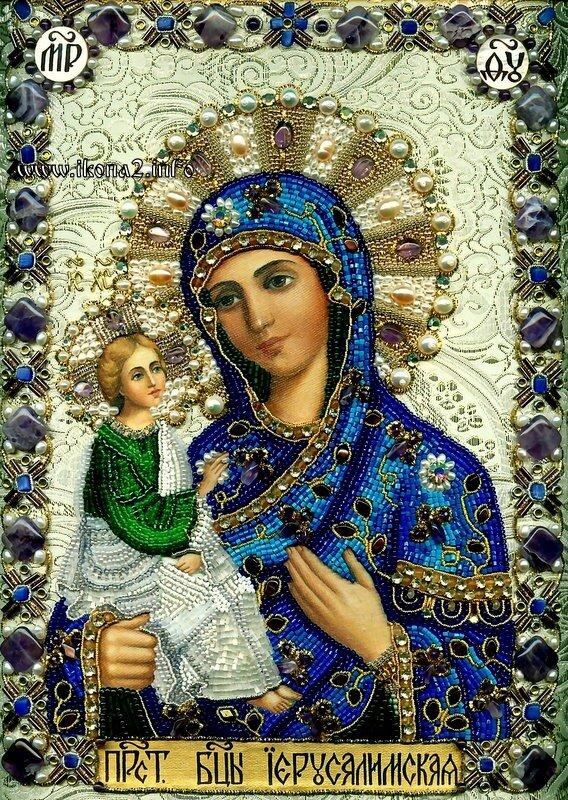 """Схемы вышивки  """"икона богородица """" - Схемы вышивки по тегам - Портал  """"Вышивка крестом """" ."""