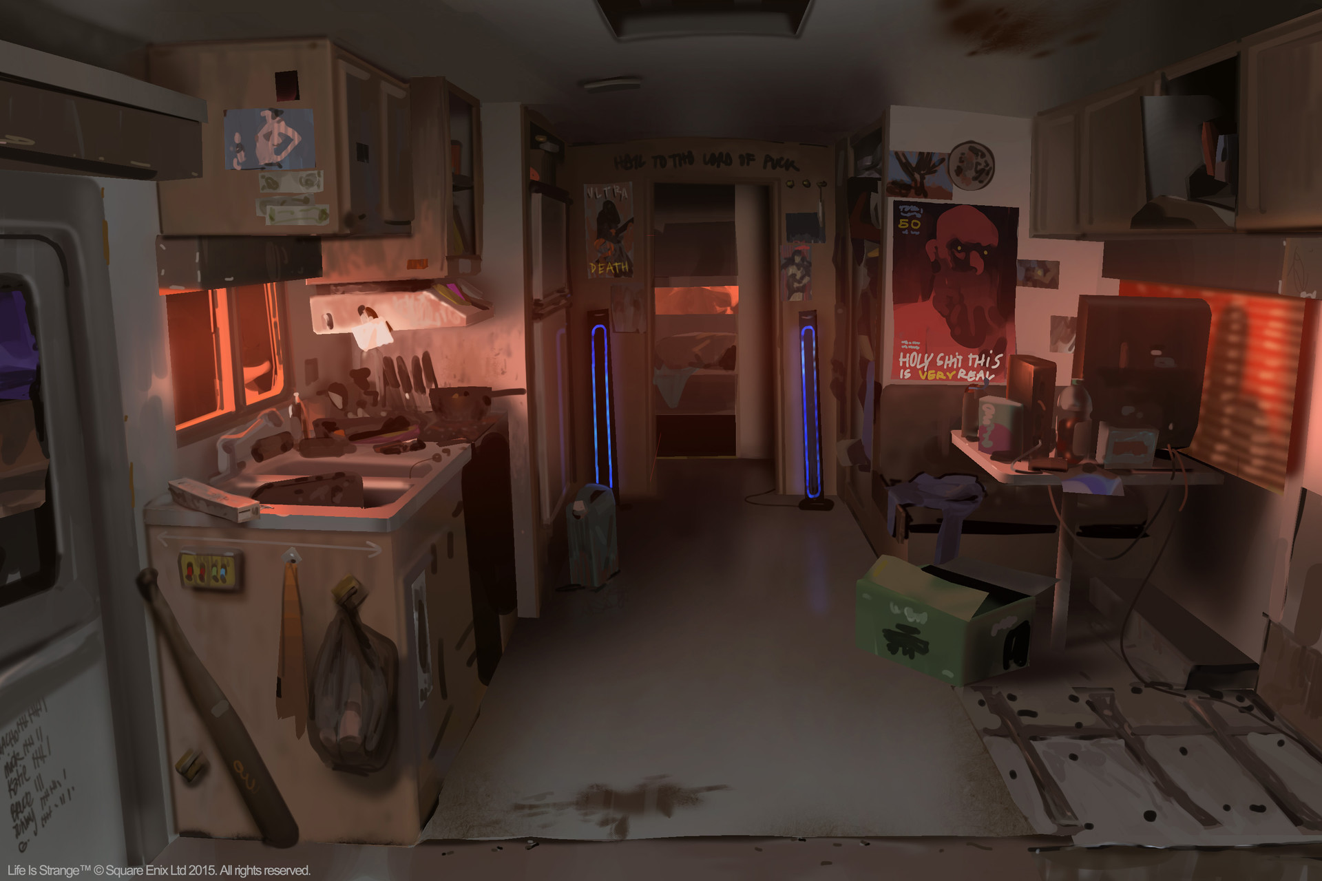 Life Is Strange Concept Art by Edouard Caplain