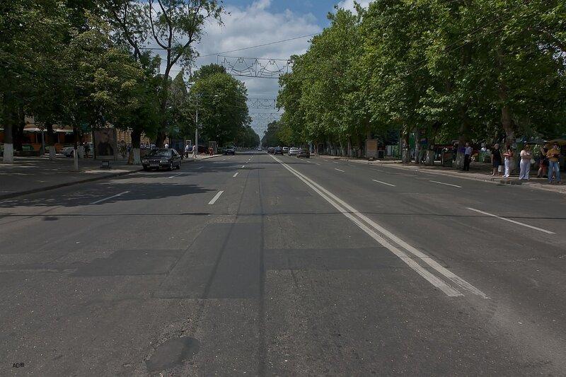 Кишинев. Центр города