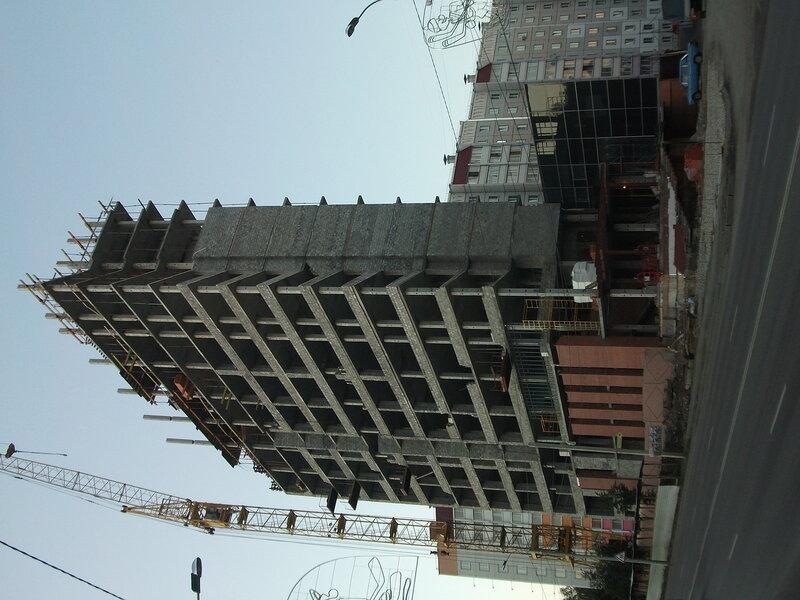 Строительство гостиницы на С.Юлаева