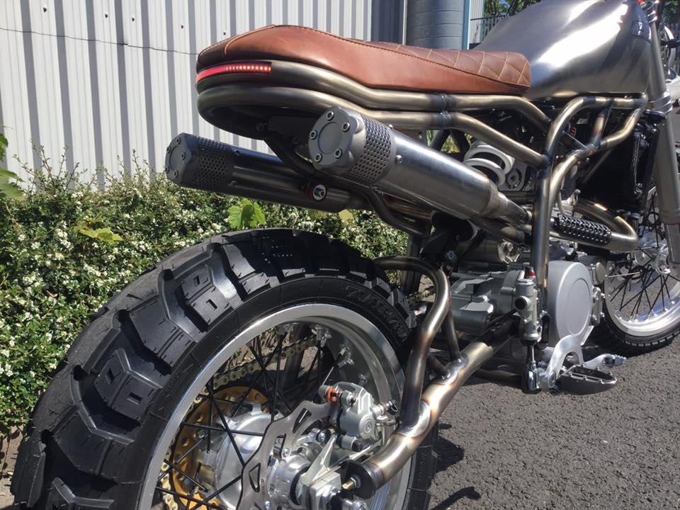 Новый мотоцикл CCM Spitfire Scrambler 2017