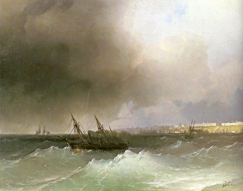Айвазовский. Вид Одессы с моря.jpg
