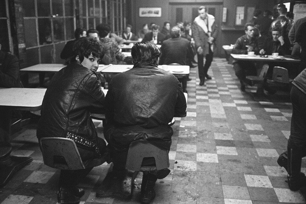 John 'Hoppy' Hopkins.Rock 'n' roll and motorbikes