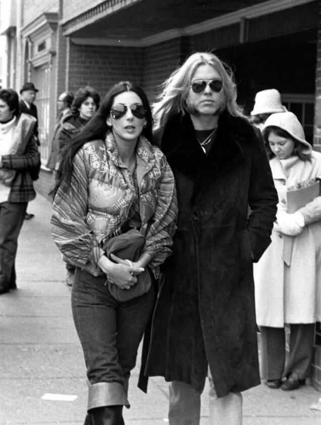 1977– Cher and Gregg Allman