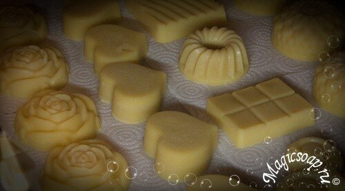 Масляные плитки (твёрдый крем для тела)