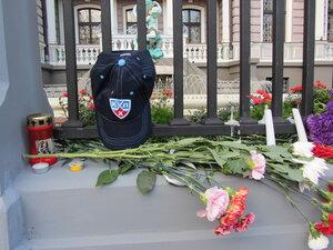 памяти погибших в авиакатастрофе хоккеистов. Сентябрь 2011