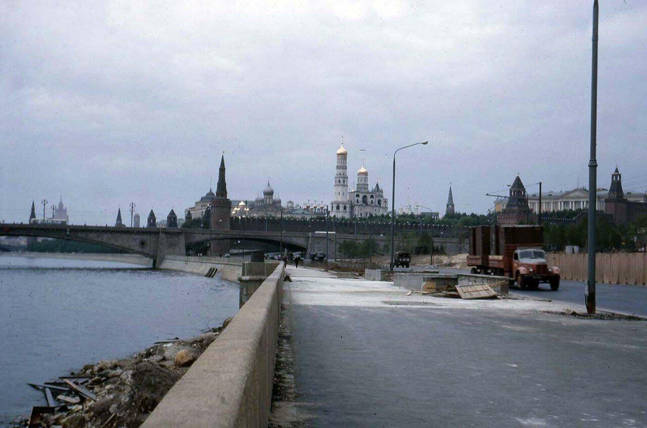02. Москва. Вид на Кремль