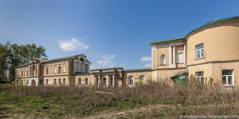 Восточная часть усадебного комплекса Ивановсое