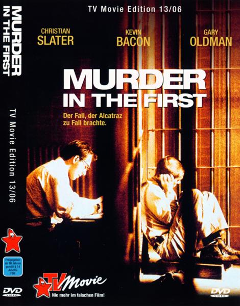Убийство первой степени / Murder in the First (1994/BDRip/HDRip)
