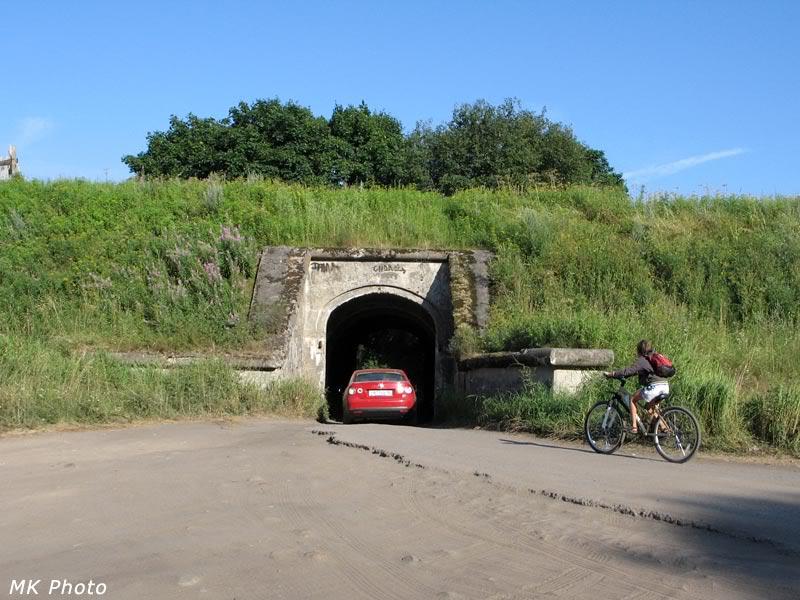 Тоннель под фортом Шанец