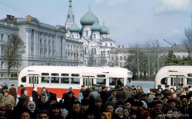 1956 Odessa by Horst Koch ЗИС-155.jpg