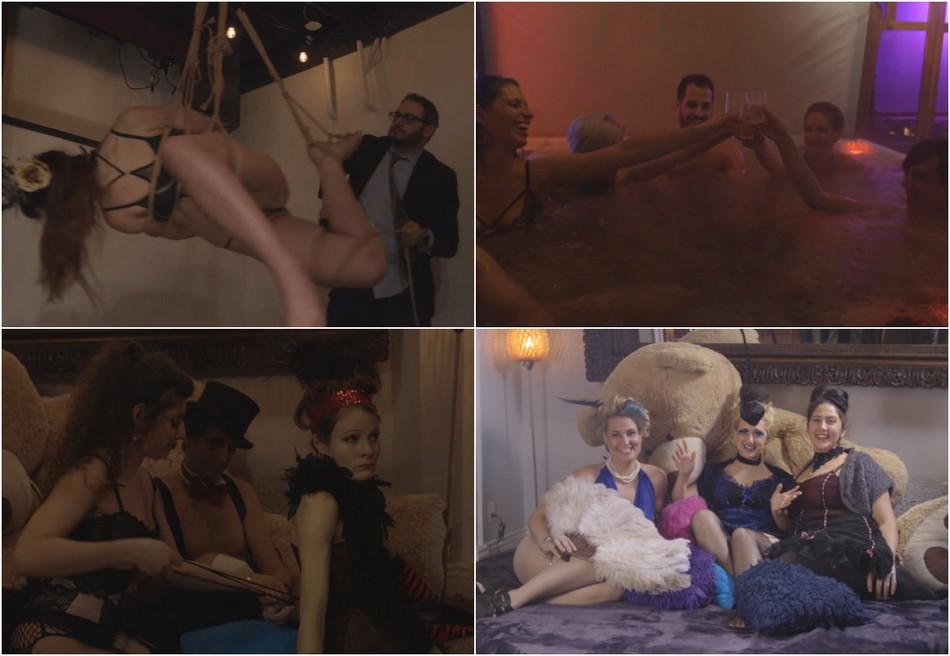 Модная секс-община, где каждую неделю проходят оргии