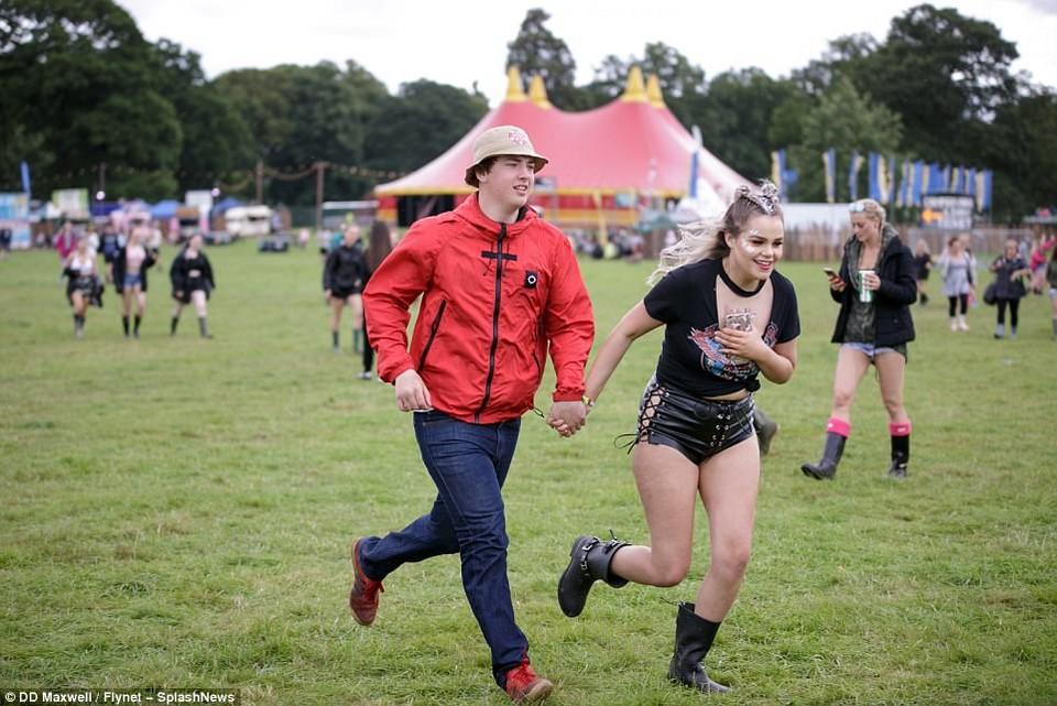 Музыкальный V Festival в Великобритании