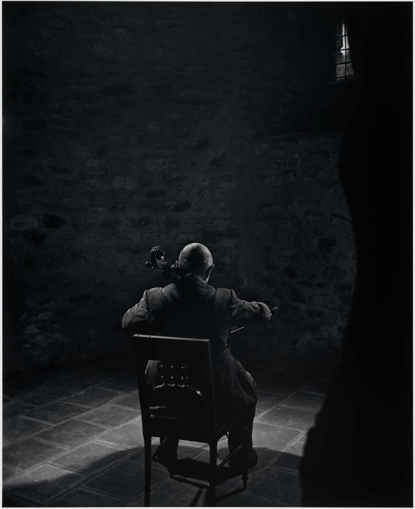 Пабло Казальс1954 Юсуф Карш Канадский фотограф 1908-2002
