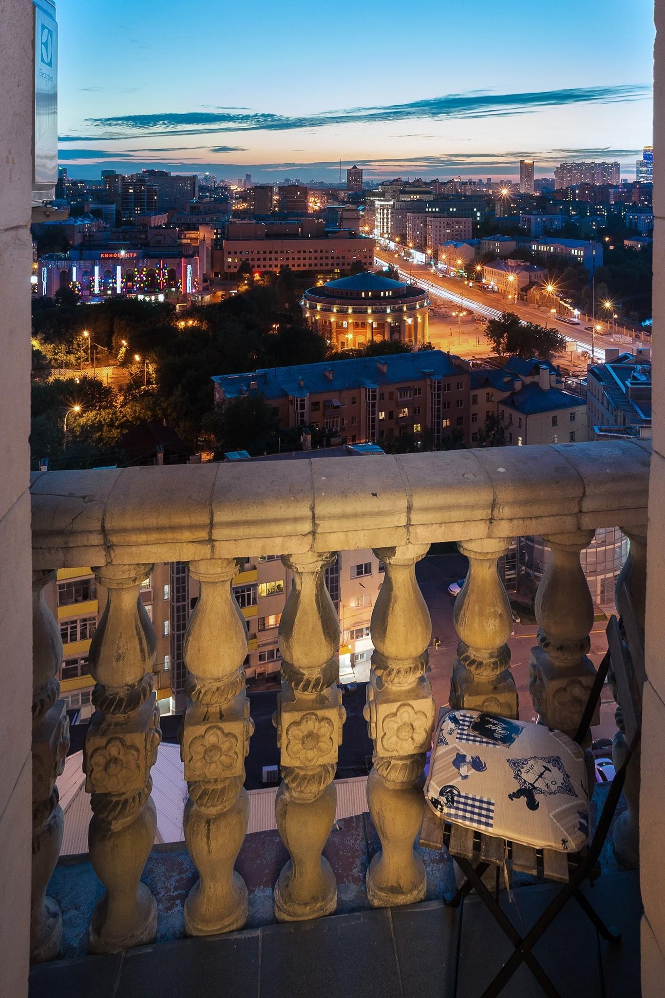 интерьерная фотосъемка гостиницы: виды из окна
