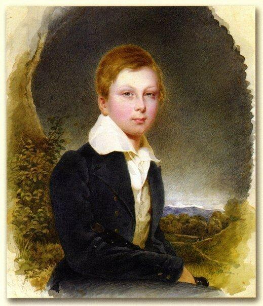 Портрет Алексея Толстого в Детстве