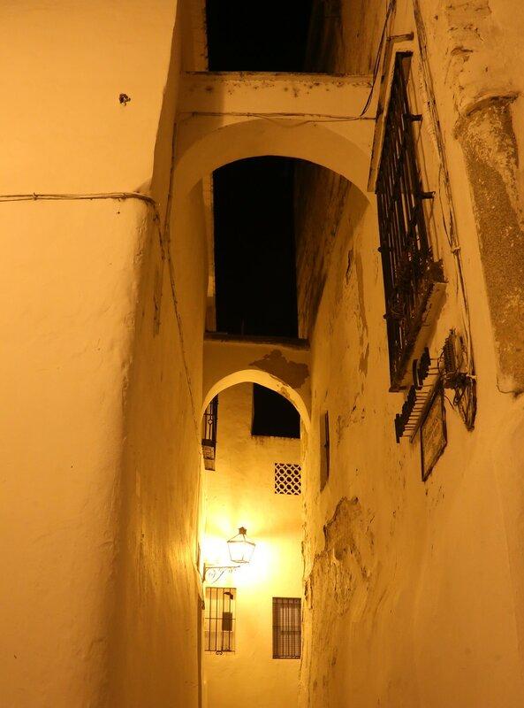 Аркос-де-ла-Фронтера. Вечер