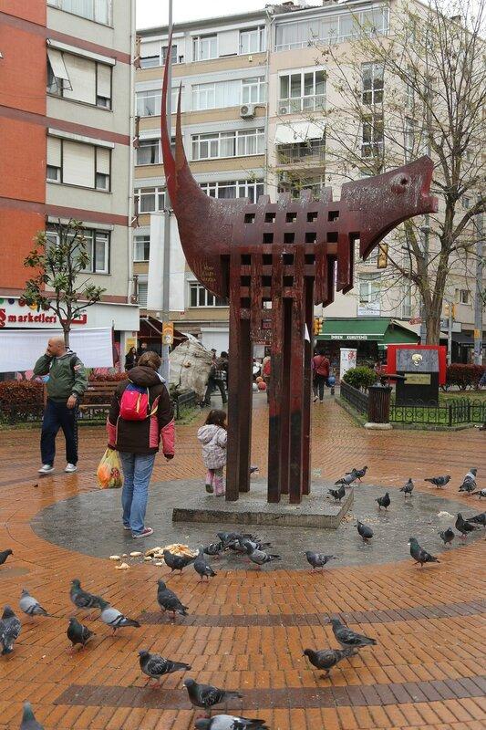 Istanbul. Mehmet Ayvalıtaş Meydanı Square)