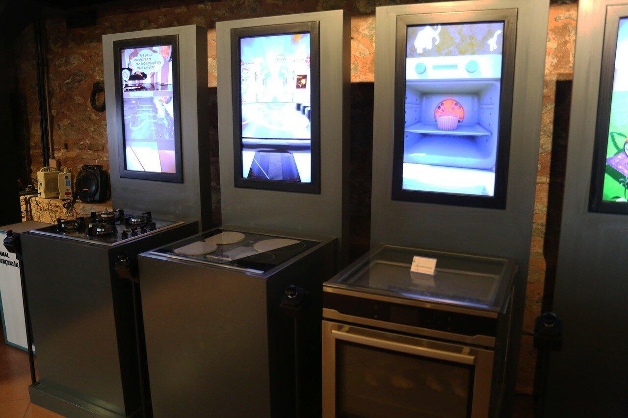 Стамбул. Музей Рахими Коча. Стамбул. Музей Рахими Коча. Газовая и электрические плиты, жарочный шкаф