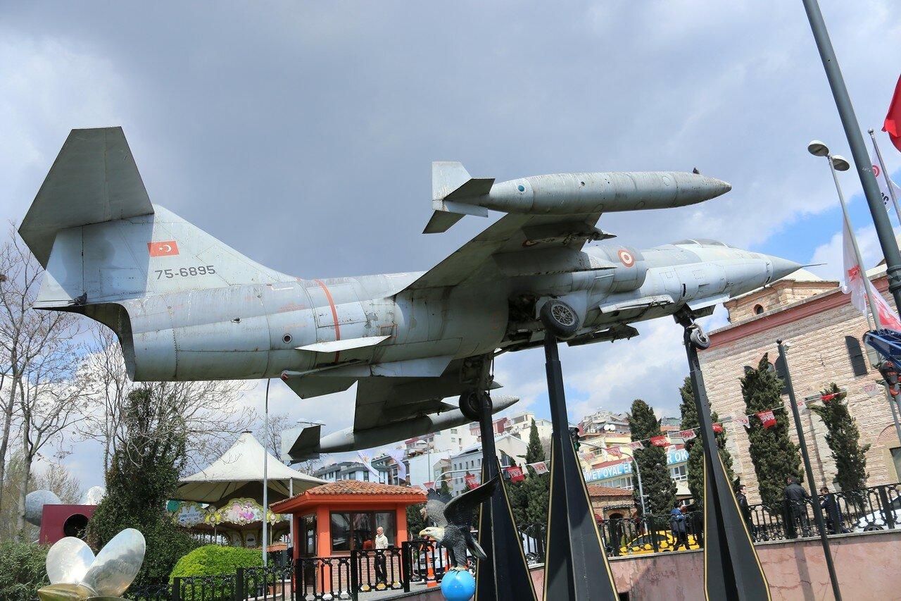 Istanbul.  Rahimi Koç Museum.  Interceptor Lockheed F-104 Starfighter