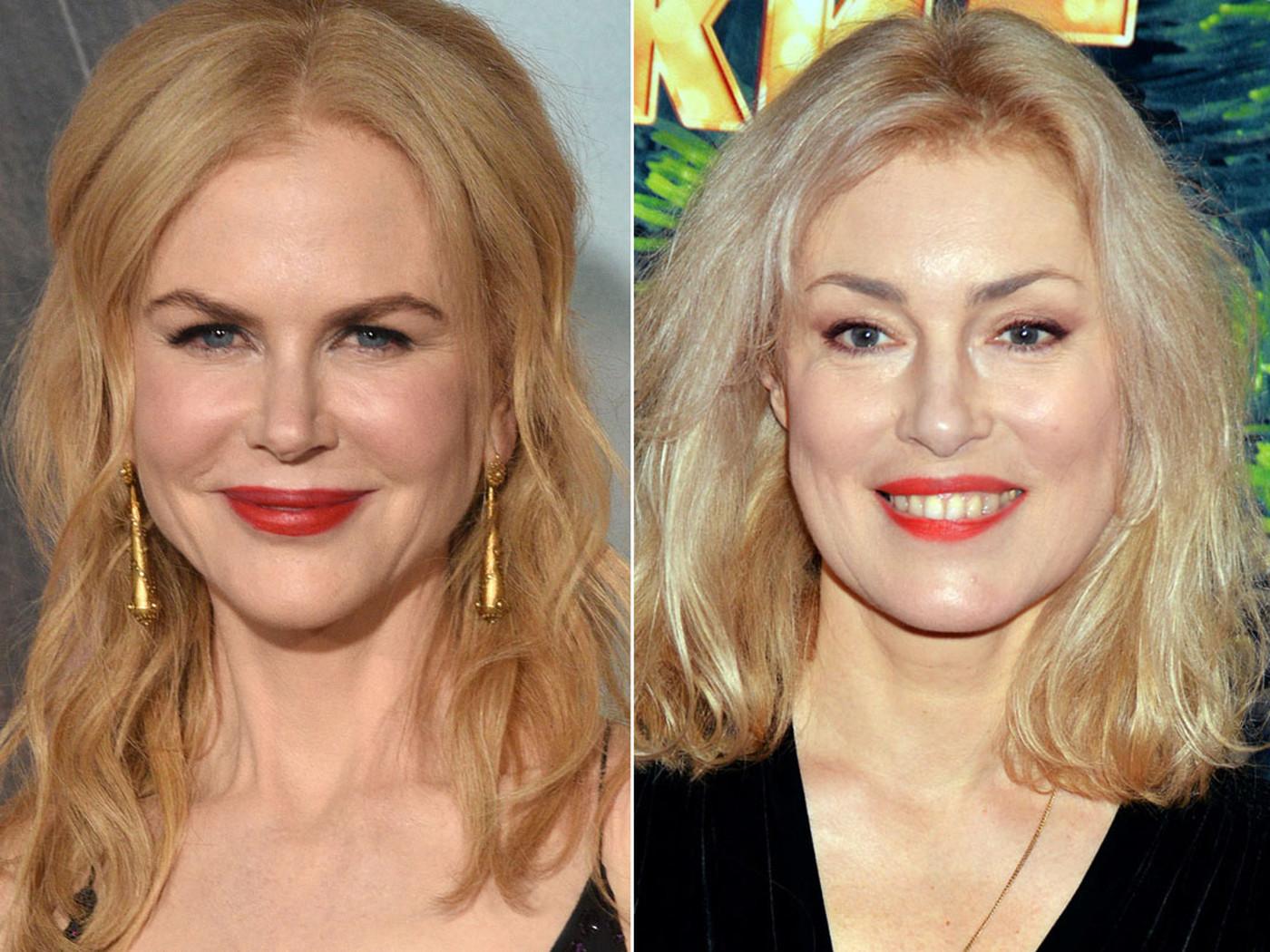Николь Кидман и Мария Шукшина, 1967 года рождения (49 лет) Обе актрисы выглядят достойно. Однако есл