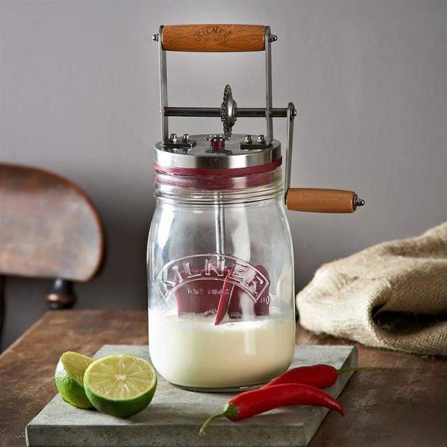 © amazon  Аэто гениальное изобретение для тех, кто мечтал делать собственное масло. Сливки и