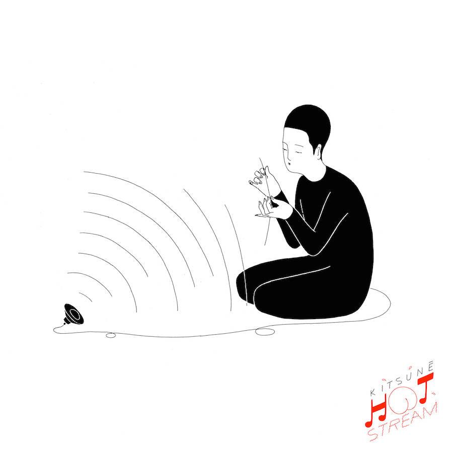 Kitsune Hot Stream Illustrations by Moonassi