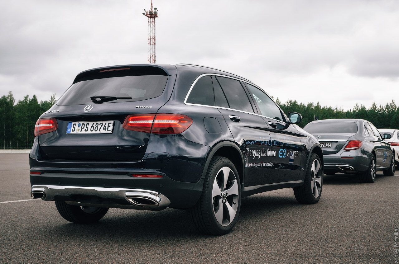 Star Experience 2017. Минск. Mercedes. Plug-in Hybrid EQ. GLC350e