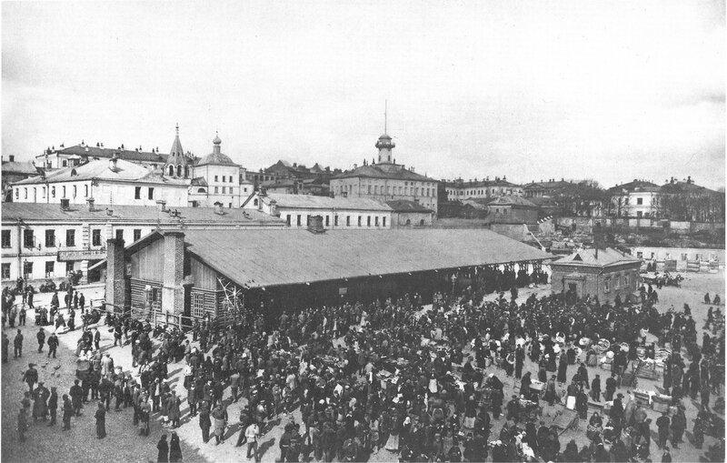 Хитровская площадь в начале 20 века