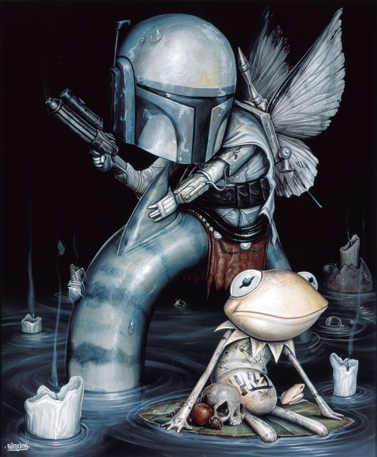 "In-Focus: Surreal Acrylic Paintings by Greg ""Craola"" Simkins"