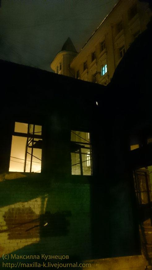 Ночные развалины
