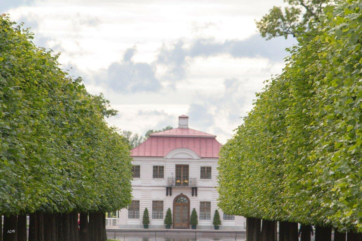Петергоф 2017 - Дворец Марли