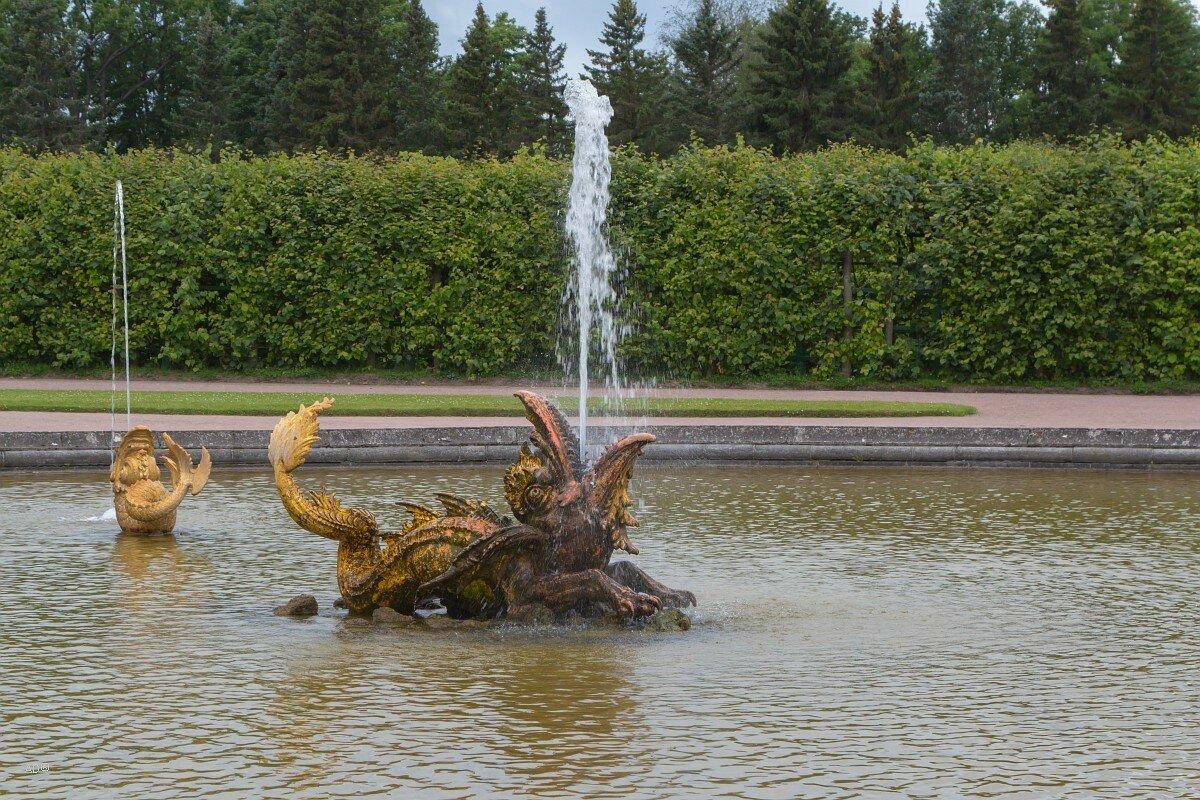 Петергоф 2017 - Верхний сад