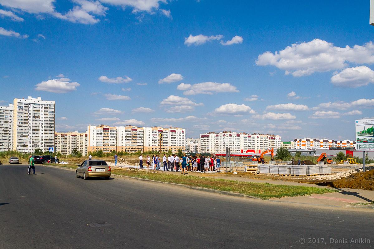 строительство бульвара в Солнечном-2 фото 1