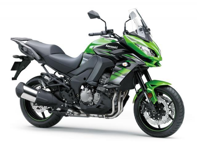 Новые расцветки мотоциклов Kawasaki 2018