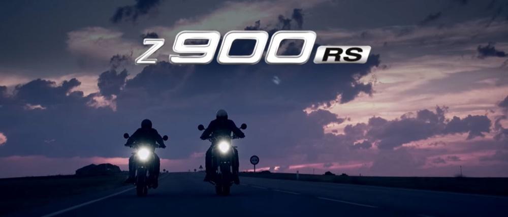 Новый мотоцикл Kawasaki Z900RS представят в Токио (тизер)