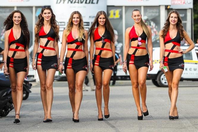 Девушки паддока Гран При Австрии 2017