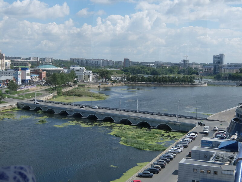 Челябинск - Вид с колеса обозрения