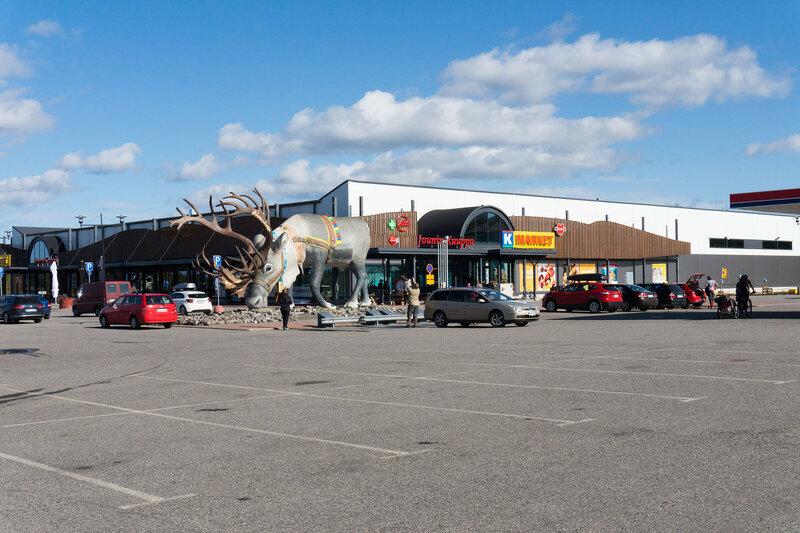 K-market в Экясломполо (Äkäslompolo)