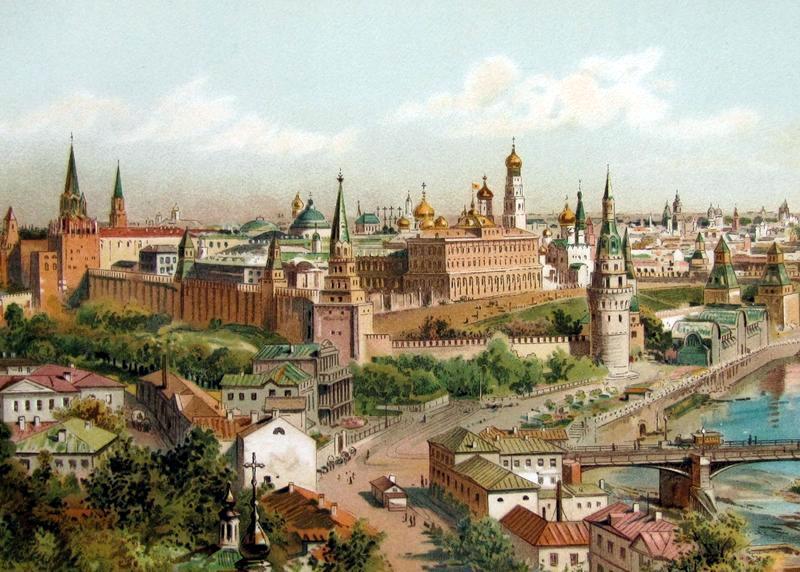 Panorama of the Kremlin