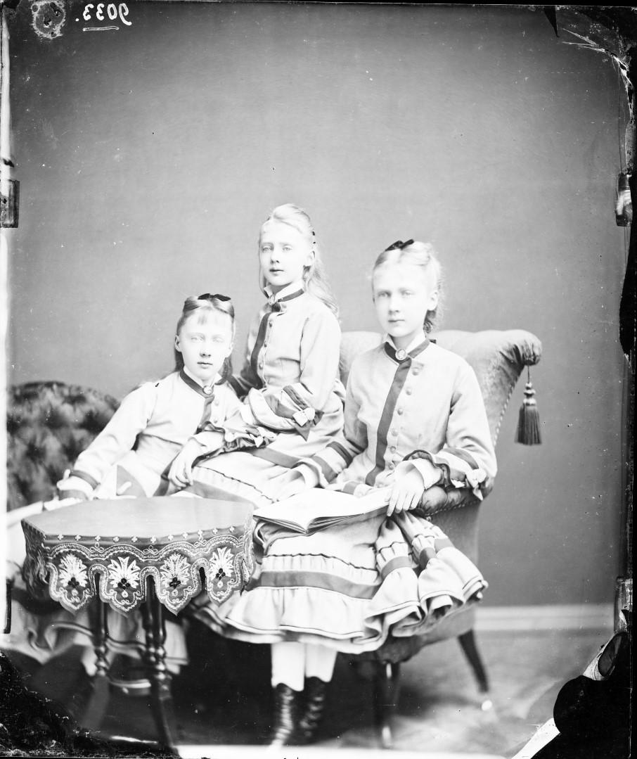 Мария Анна, Маргарет и Елизавета Саксен-Альтенбургские, 1876