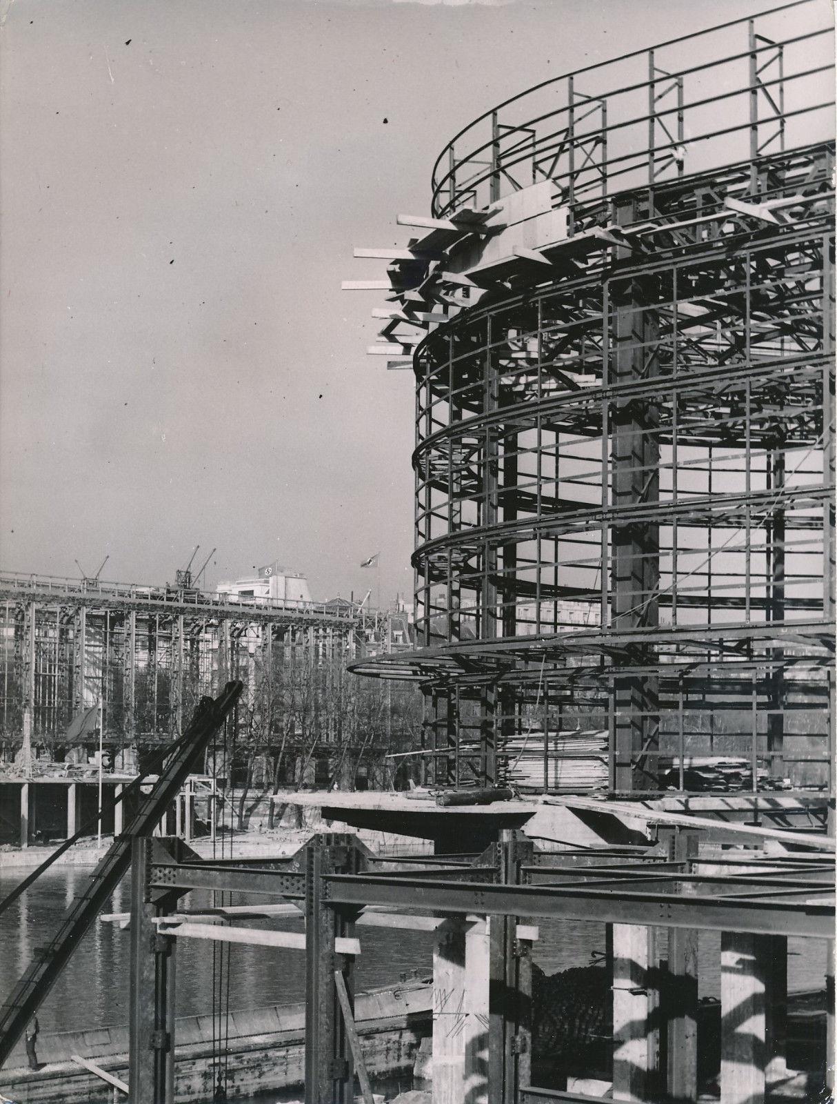 Строительство выставочных павильонов Бельгия и Германии