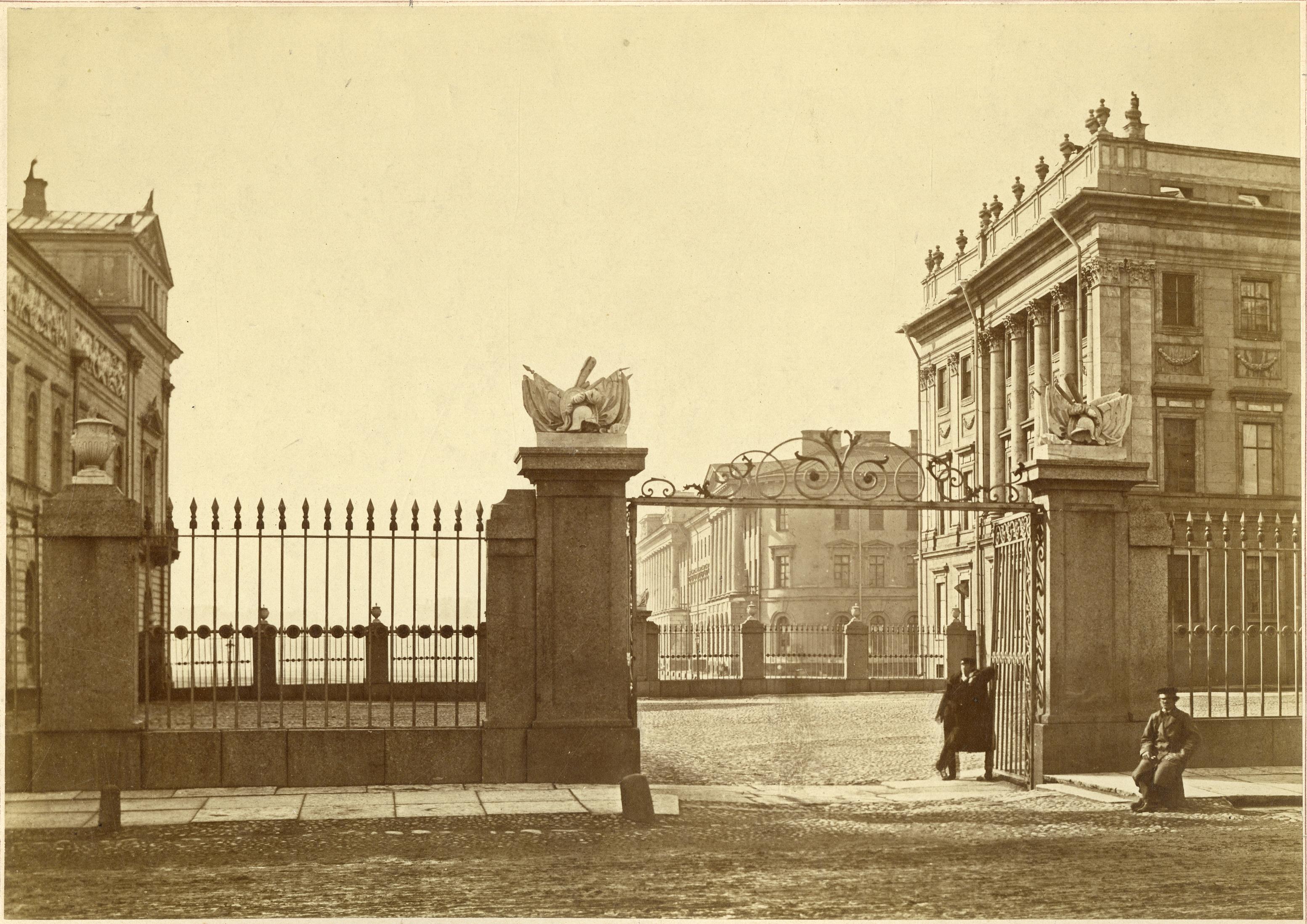 1860-е. Мраморный дворец