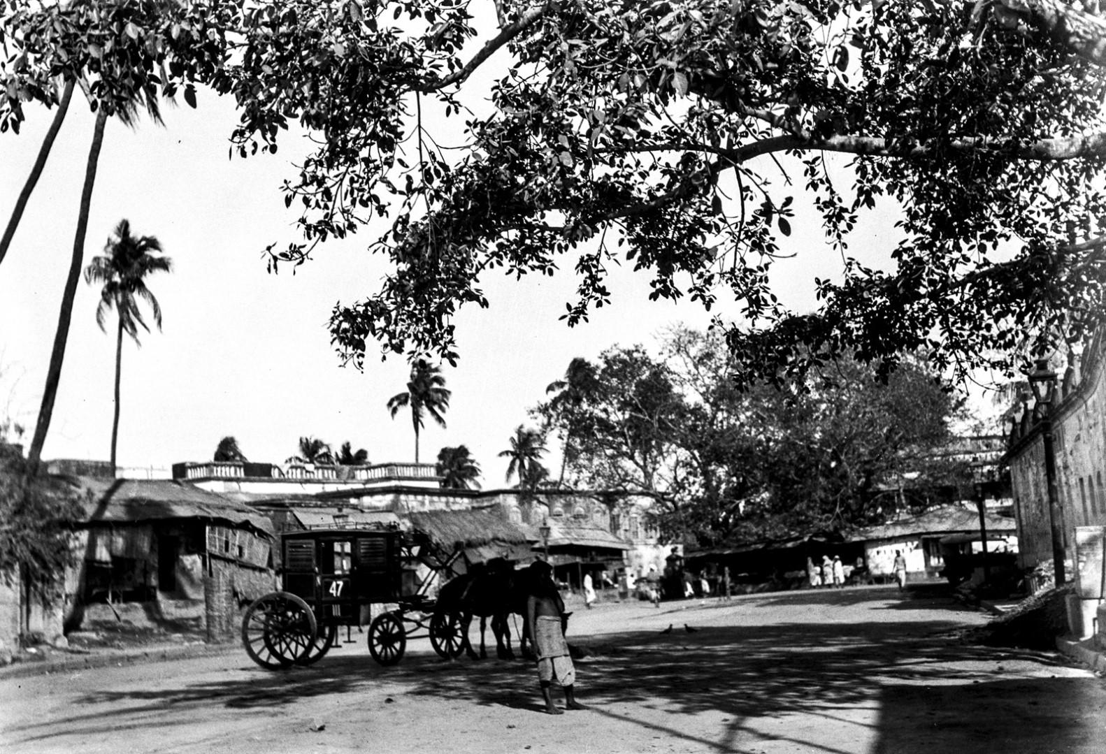 1280. Уличная сцена в Калигхате