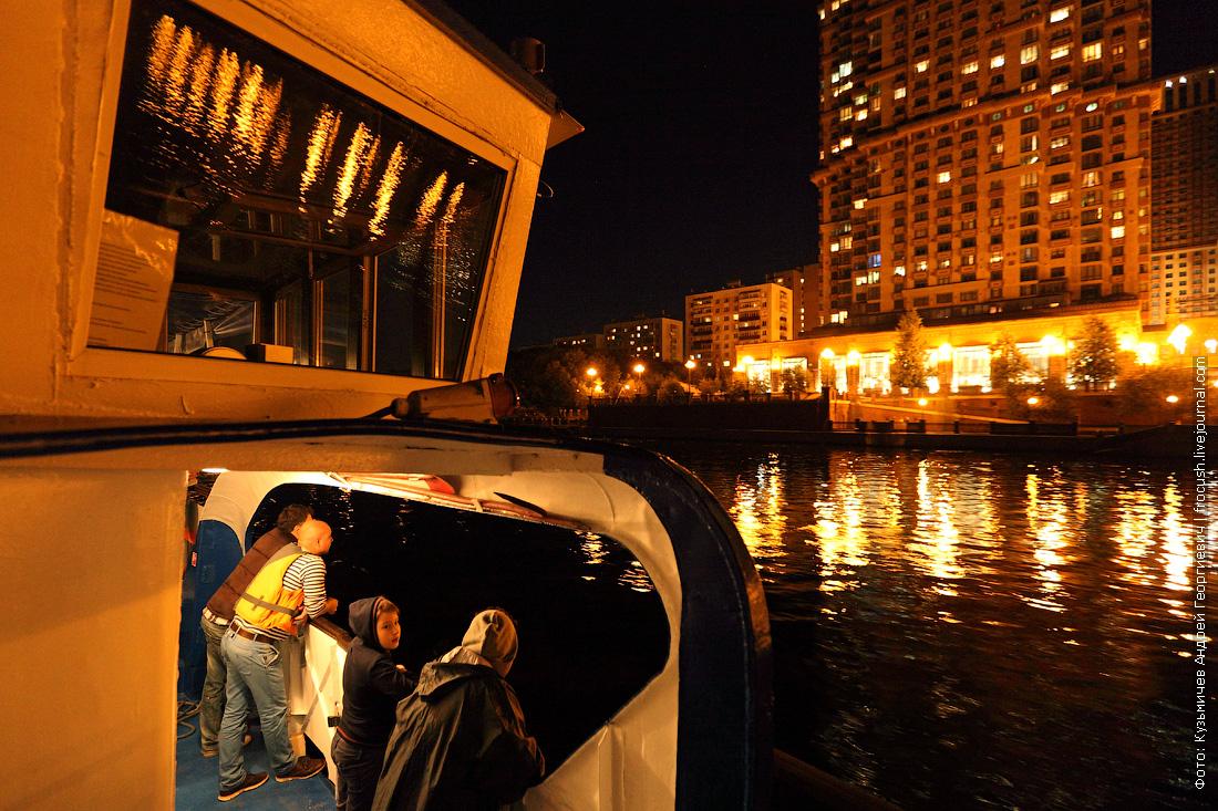 ночное фото жилой комплекс Алые паруса