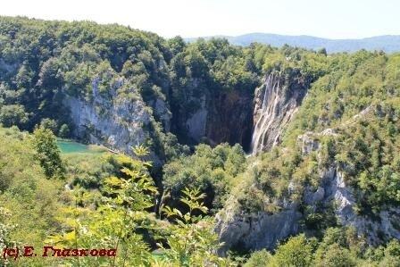 Хорватия водопад