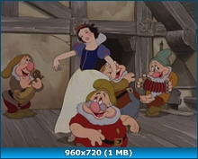 ���������� � ���� ������ / Snow White And The Seven Dwarfs (1937) BDRip 720p