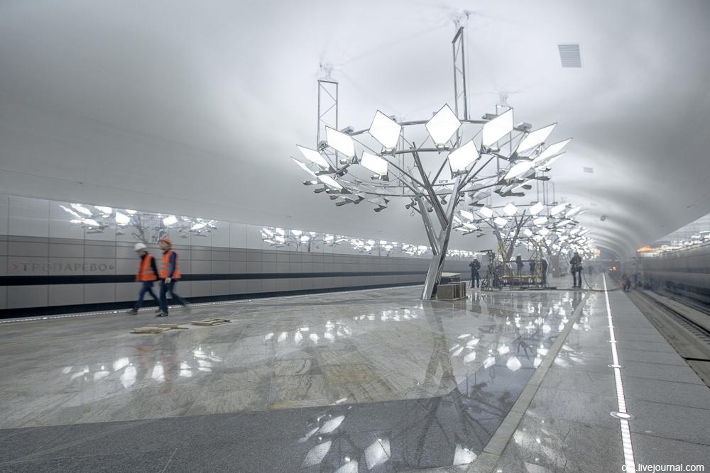 станция Тропорево